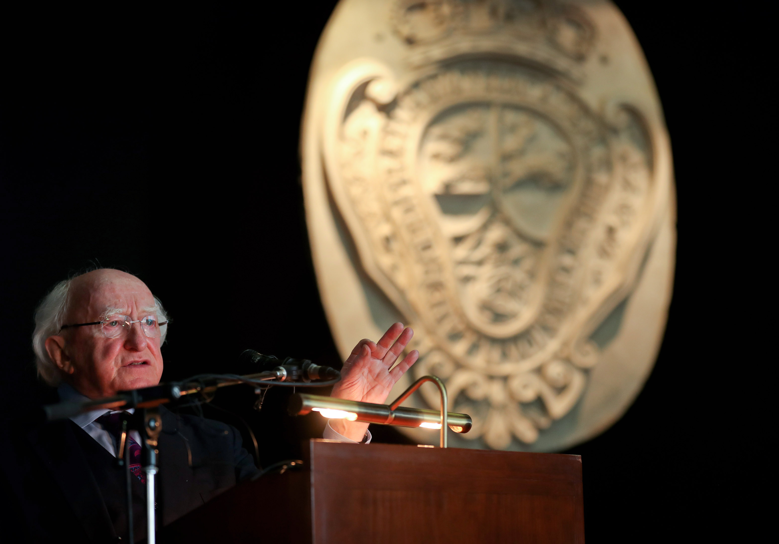Michael D. Higgins, President of Ireland delivers keynote address to SILAS conference, University of Havana, Cuba